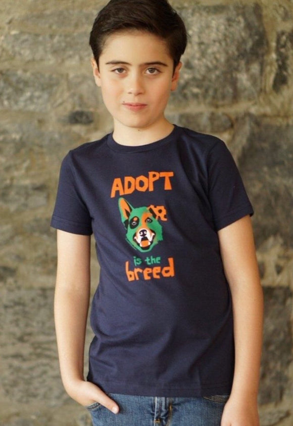 Adopt Boys Navy T-shirt