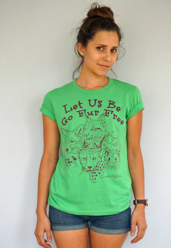 PETA Women Grass T-shirt