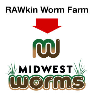 RAWkin Worm Farm Merged with Midwest Worms