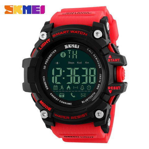 Men Smart Watch Pedometer Calories Chronograph Fashion Outdoor Sports Watches - Wizard Watches