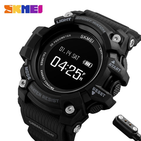Smart Watch Bluetooth Pedometer Calorie Men Heart Rate Sport Watches - Wizard Watches