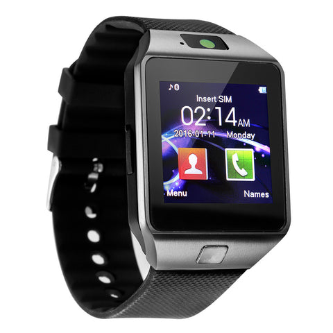 Bluetooth Smartwatch Touch Clocks Smart Watch Wristwatch Men Facebook Pedometer - Wizard Watches