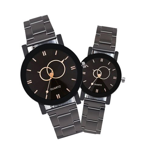 Fashion Luxury Men Women  Watches Casual Lovers Couple Wristwatches - Wizard Watches
