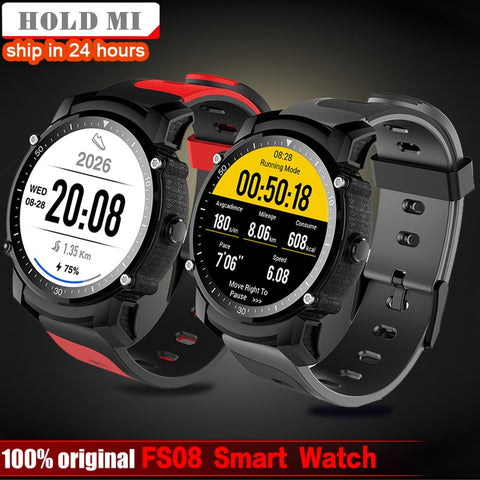 Smart Watch Men IP68 Waterproof GPS Sports Fitness Tracker Stopwatch Heart Rate Monitor Wristwatch - Wizard Watches