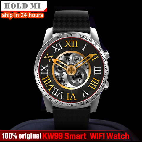 Smart Watch Phone MTK6580 3G WIFI GPS Watch Men Heart Rate Monitoring Bluetooth Smartwatch - Wizard Watches