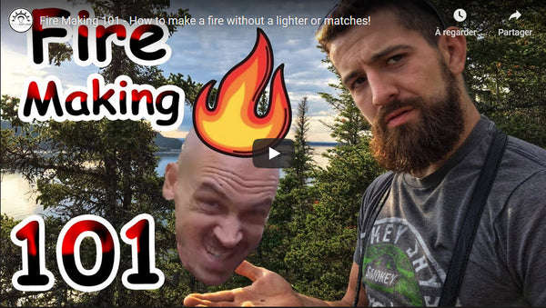 Episode 1: How to survive in the woods with Thor Champagne