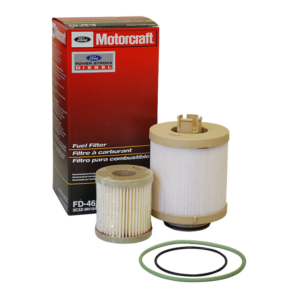 Motorcraft Fd 4616 60 Powerstroke Fuel Filter Kit Warren Diesel 2003 F250