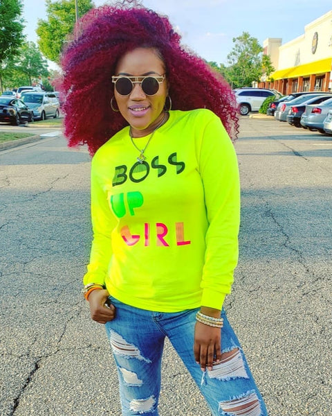 Boss Up GIRL! Retro Tee