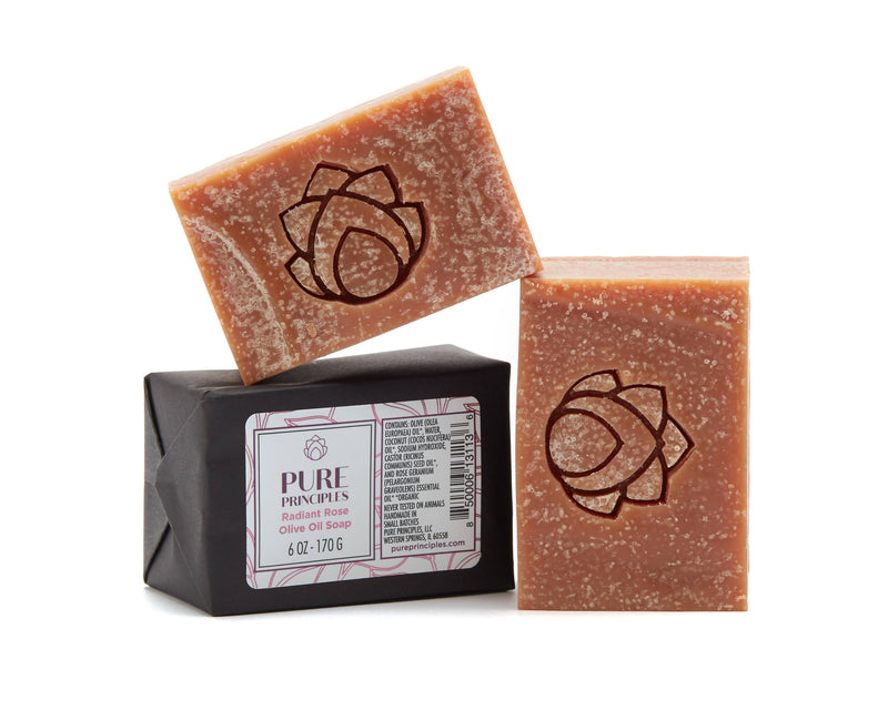 Olive Oil Soap Radiant Rose