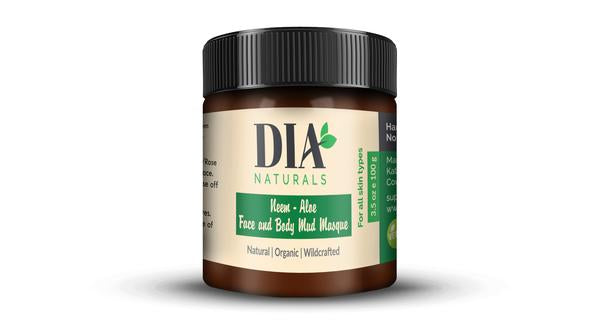 Organic Neem - Aloe Face and Body Mud Masque