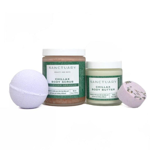 Self-Care Kit Lavender-Geranium scented