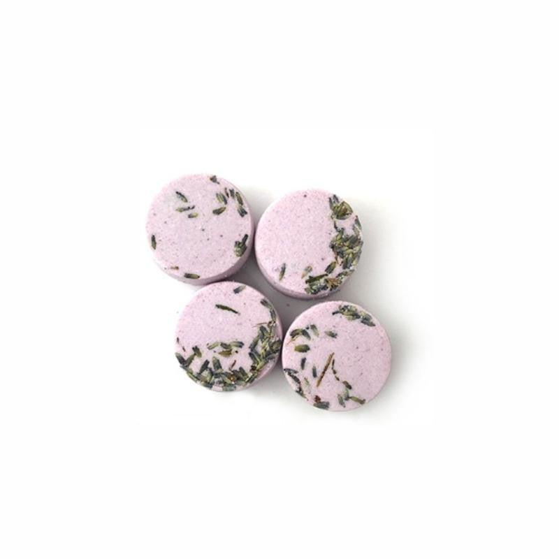 Shower Bomb Pack of 4 Lavender-Geranium Scented