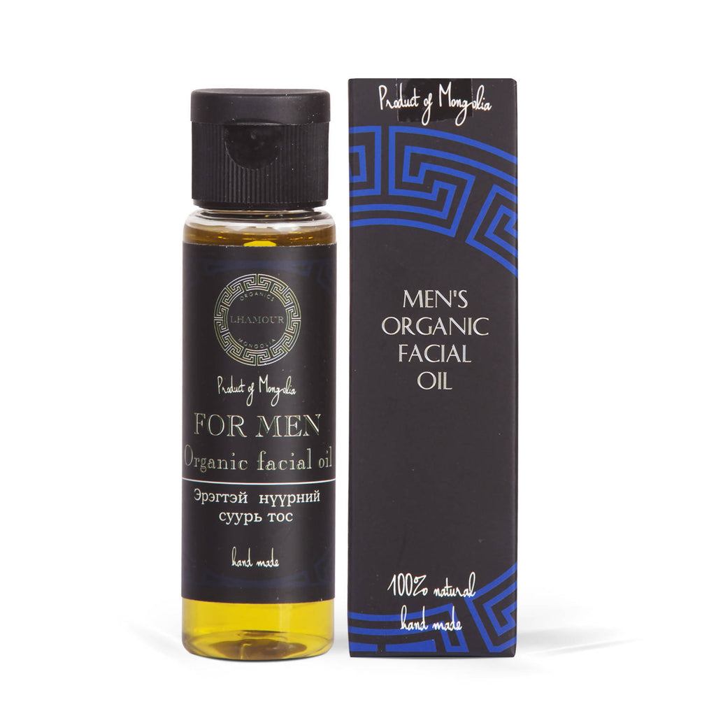 Men's Organic Facial Oil