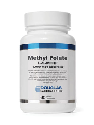 Methyl Folate L-5-MTHF 1000 mcg Metafolin