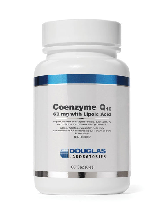 Coenzyme Q10 60 mg with Lipoic Acid
