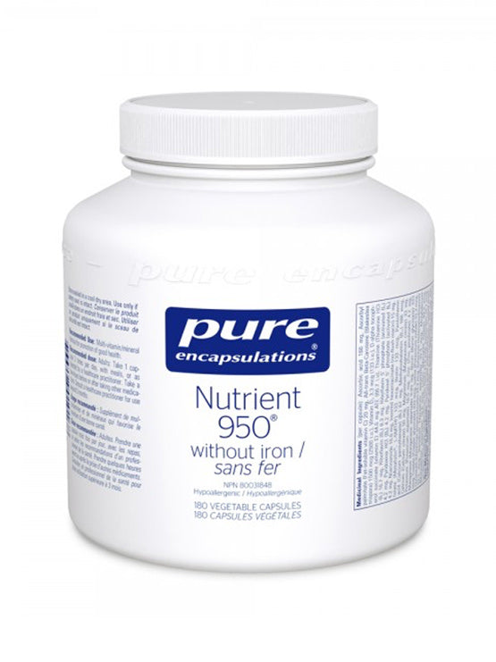 Nutrient 950 (without iron/sans fer)