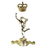 Cap Badge - Royal Signals - Bi-Metal - 3pc - Shank & Pin