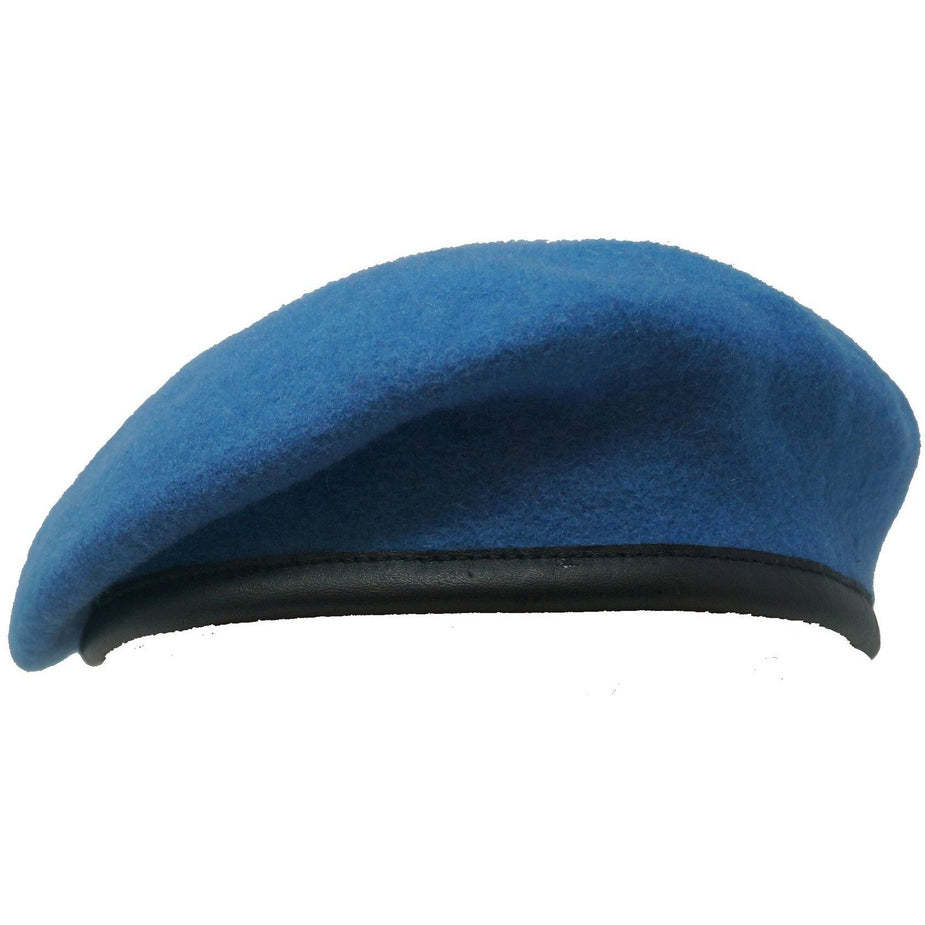Beret UN - United Nations - Blue Silk Lined