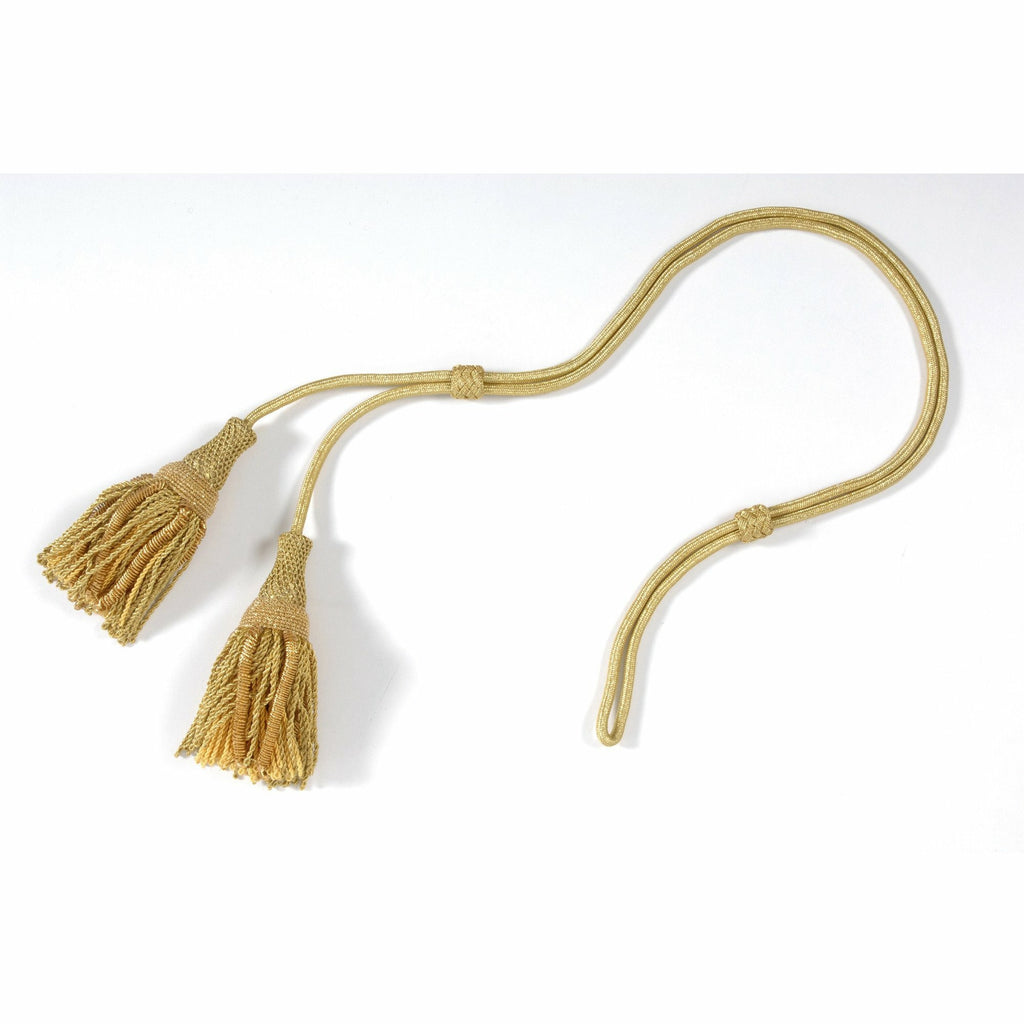 Gold MP Cords & Tassels