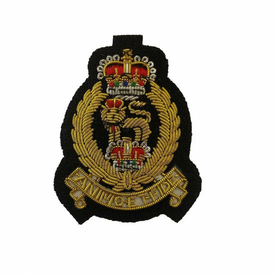 Ammo & Co Beret Badge - AGC - Black B/G