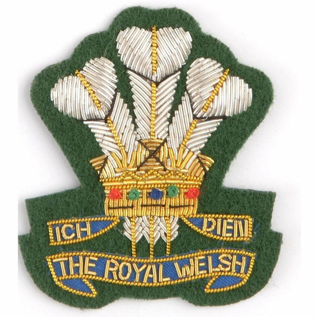 Ammo & Co Beret Badge - Royal Welsh