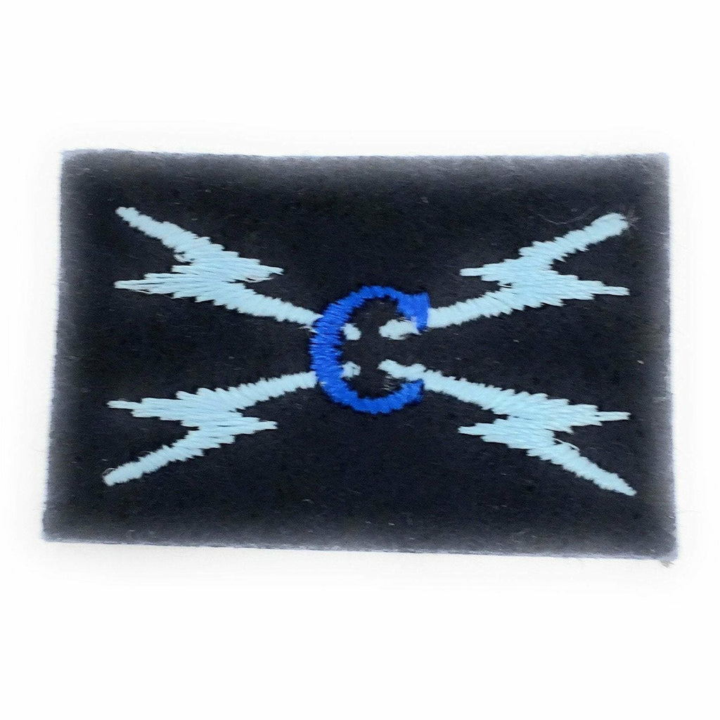 Radio Operator & Cyber Awareness Blue Badge Proficiency & Award Badges Ammo & Company - Military Direct
