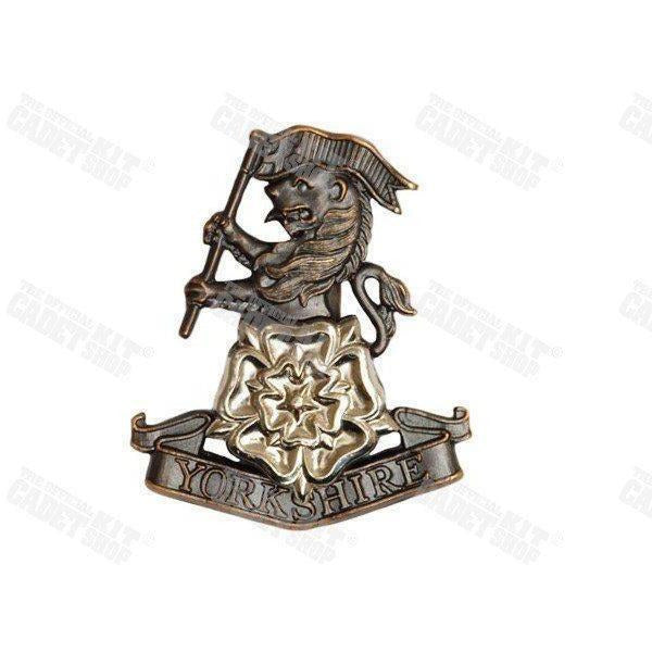The Yorkshire Regiment Badge Regiment & Corps Metal Badges Ammo & Company - Military Direct