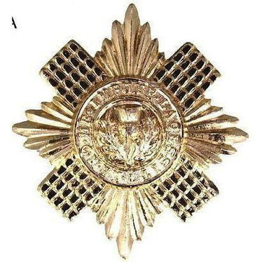 Ammo & Co Cap Badge - Scots Guards O/R - Brass