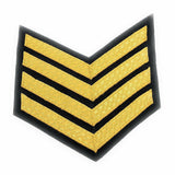 Mess Dress - Chevrons -Gold on Navy- 4 Bar [product_type] Ammo & Company - Military Direct