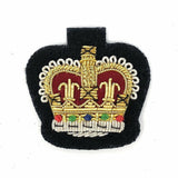 Mess Dress Crown - WO2 - Gold on Navy Ground [product_type] Ammo & Company - Military Direct