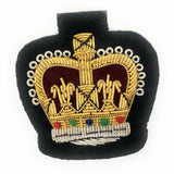 Mess Dress Crowns - WO2 - Black Ground [product_type] Ammo & Company - Military Direct