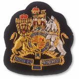 Mess Dress - Royal Coat of Arms - WO1  - Black Ground [product_type] Ammo & Company - Military Direct