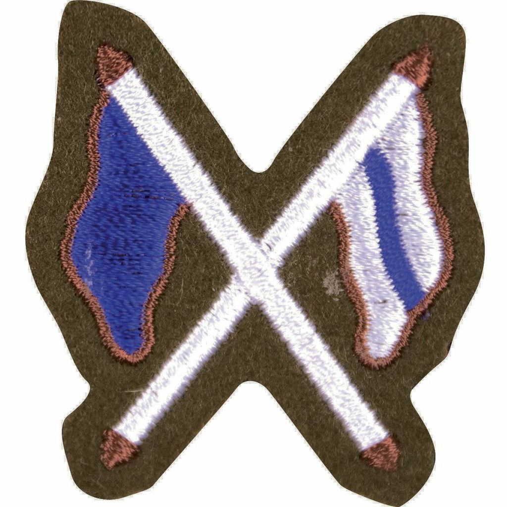 No2 Dress - Trade Badge - Signaller (X Flags) [product_type] Ammo & Company - Military Direct