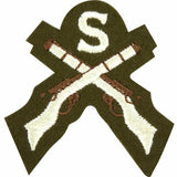 No2 Dress Trade Badge - Sniper (X Rifles & S)