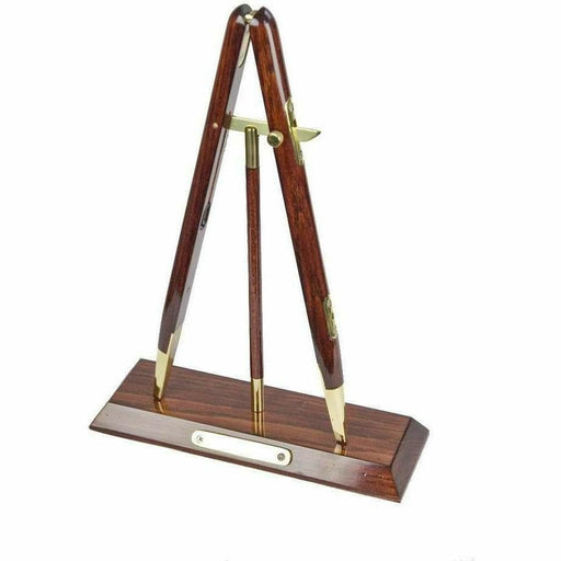 Ammo & Co Presentation Items 31cm Rosewood Presentation Pace Stick with Brass Mounts