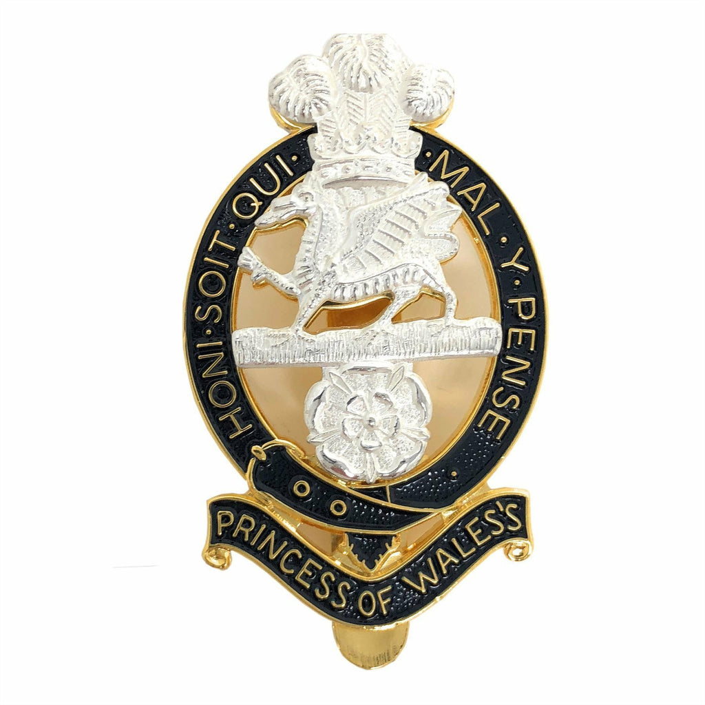 PWRR Other Ranks - Forage Cap Badge [product_type] Ammo & Company - Military Direct