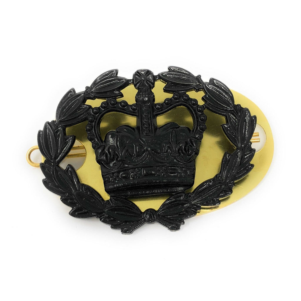 RQMS Black Rank Badge Back Plate & Shanks [product_type] Ammo & Company - Military Direct