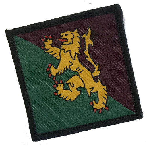 Ammo & Co TRF - 51st Infantry Brigade - Gold Lion on Grn/Mrn - 50 x 50mm