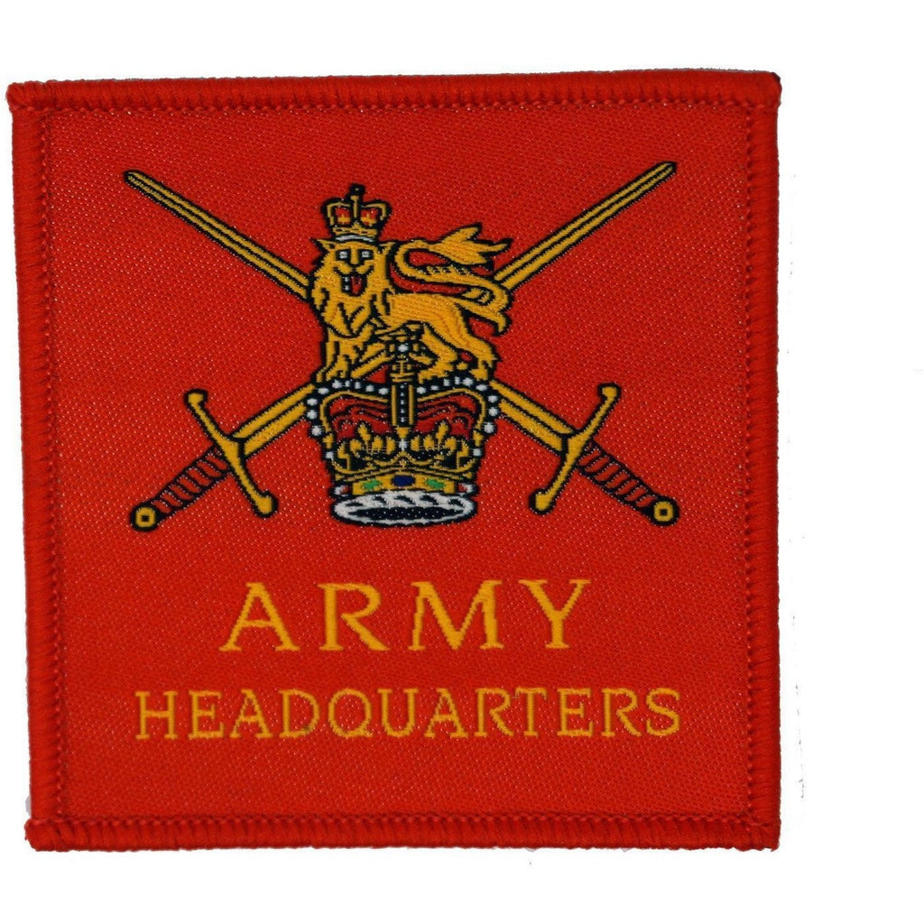 TRF - Army Headquarters Flash - 60 x 60mm [product_type] Ammo & Company - Military Direct