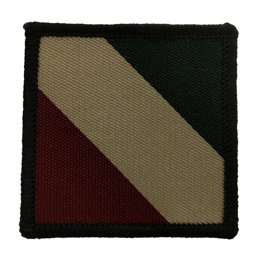 TRF - Mercian Reg. - Grn/Beige/Red - 50 x 50mm [product_type] Ammo & Company - Military Direct
