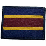 TRF - RAVC - Navy/Yelow/Maroon Stripes - 60 x 48mm [product_type] Ammo & Company - Military Direct