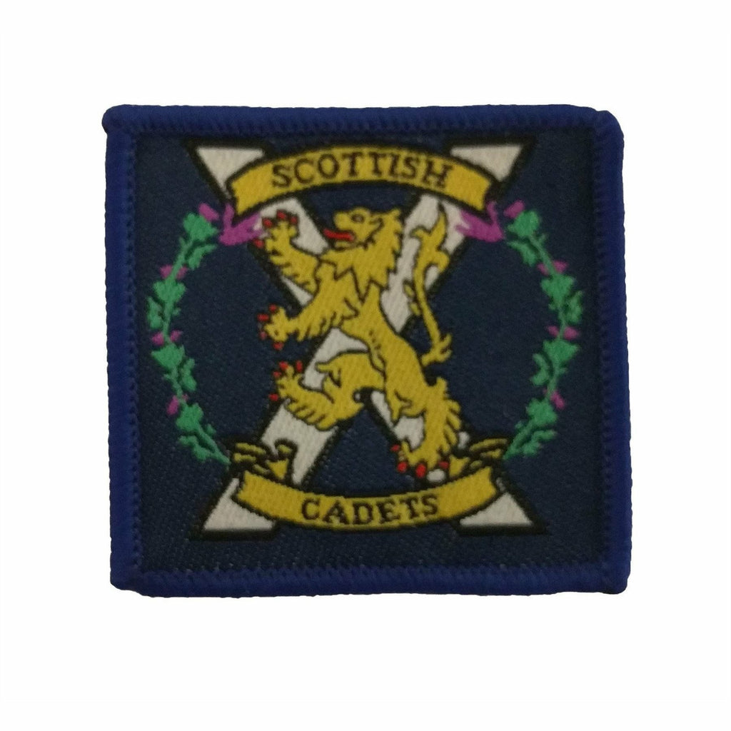 TRF- Scottish Cadets Badge - 48 x 40mm [product_type] Ammo & Company - Military Direct