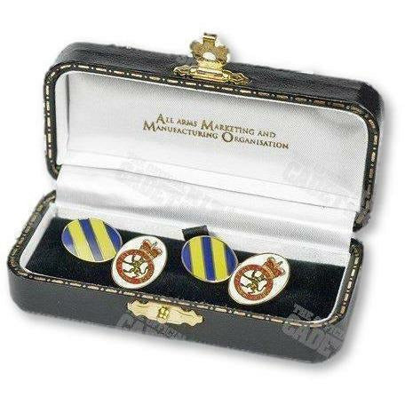 Ammo & Company Army Force ACF Army Cadet Force Hand Enameled Gilt Plated Cufflinks