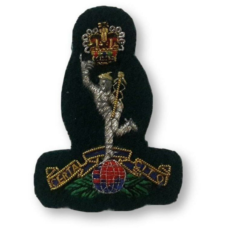 Ammo & Company Beret Badge B/W Officers Royal Sig - Green