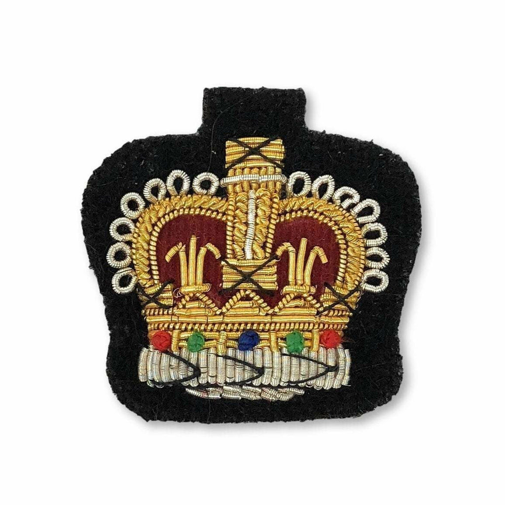 Ammo & Company Mess Dress Crowns - S/Sgt - Black Ground