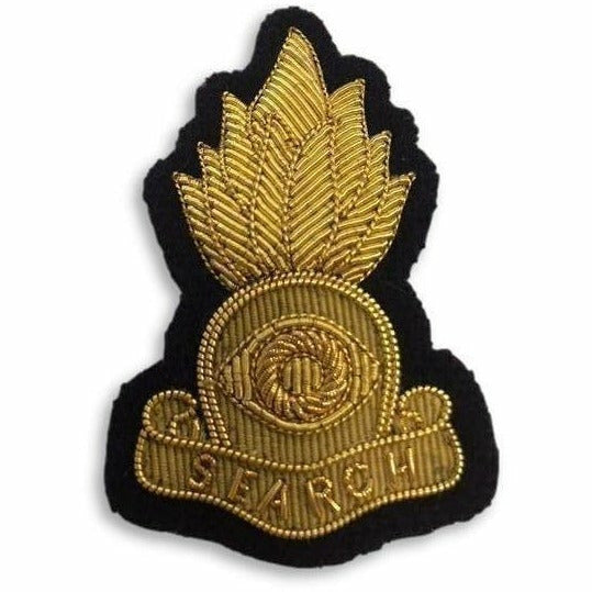 Ammo & Company Mess Dress- Qualification Badge - C-IED - Gold on Navy Ground