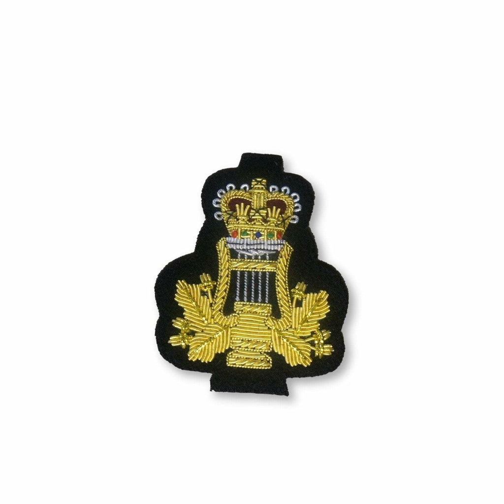 Ammo & Company Mess Dress- Qualification Badge- Musicians' Badge - Gold on Navy Ground