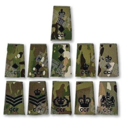 Ammo & Company Rank Slides Adult Volunteer CCF Rank Slide in Multicam MTP