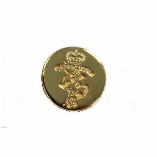 REME Blazer Button -  -Small- Indented D/Gilt/Bur [product_type] Ammo & Company - Military Direct