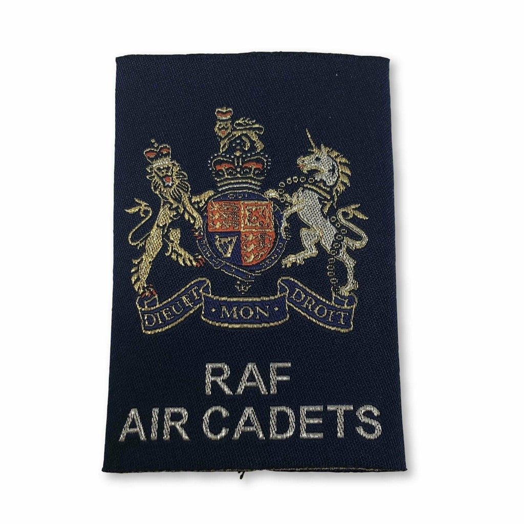 Ammo & Company SNCO/WO Rank Slide - RAF Air Cadets - Warrant Officer Class 1 - Blue Woven